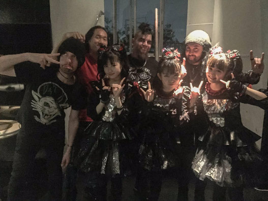 BABYMETAL x Dragonforce