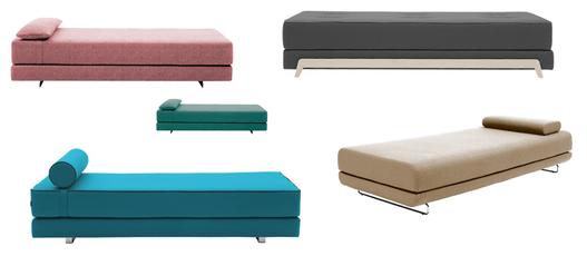 Tagesbetten und Chaiselongues von Softline