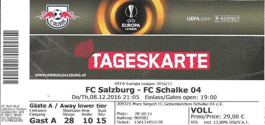 RB Salzburg 08.12.2016