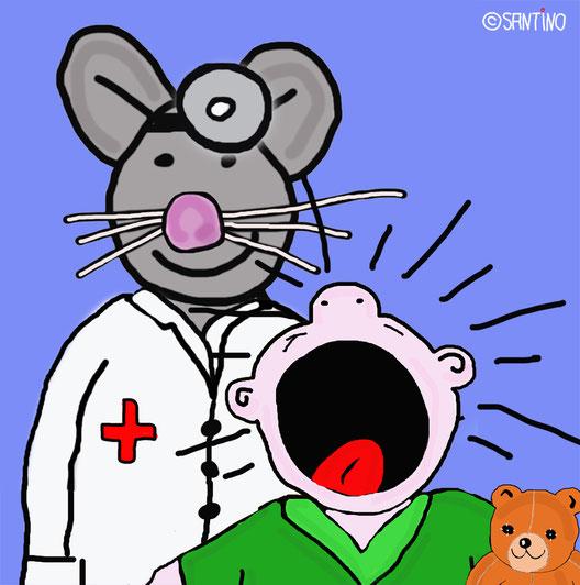Am liebsten hätte Dr. Bernd Maus der plärrenden Göre den Hals umgedreht...