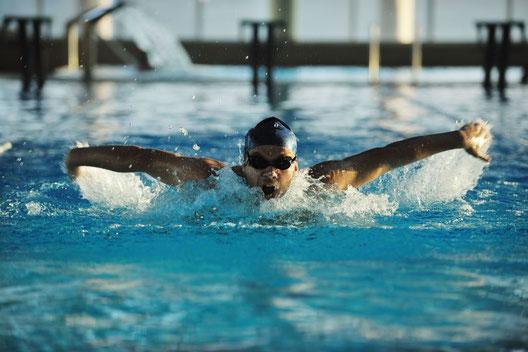 estilo de natación más rapido