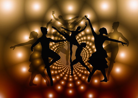 Tanzen macht glücklich.