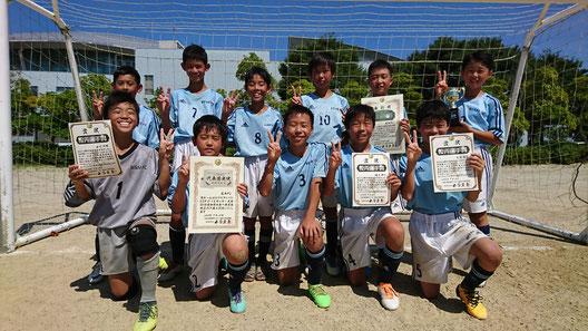 H30年度 U12 フジパンCUP西尾張予選大会 準優勝