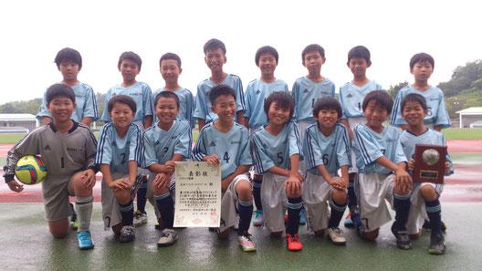 悲願の東海大会初出場!! 尾西FCに新たな歴史を刻んでくれました。
