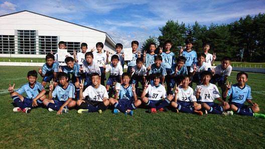 H30年度 U12 全国選抜少年サッカー大町大会