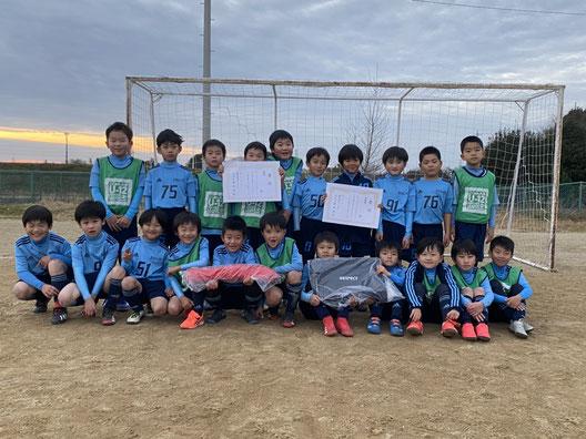 U8 KURIMOTOクリスマスカップ 優勝!!