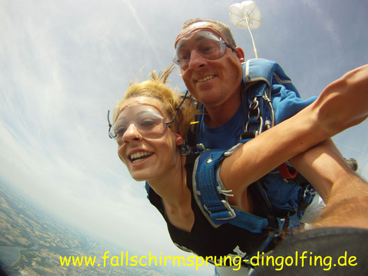 Fallschirmsprung Regenburg Bayern