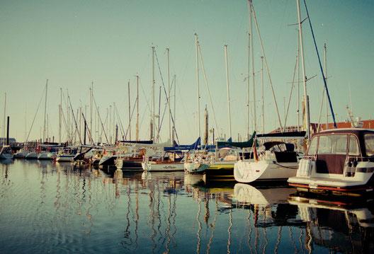 Der Hafen vom Seglerverein Norderney.
