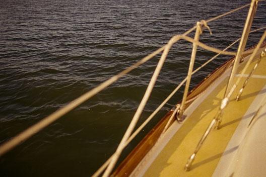 Ein Segeltörn des SALZWASSER Teams in der Nordsee vor der Insel Norderney.