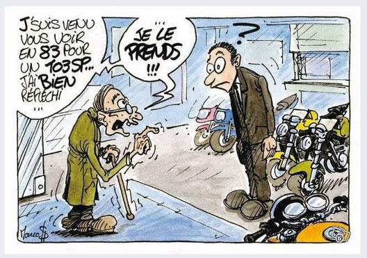 Vieux motard que jamais...