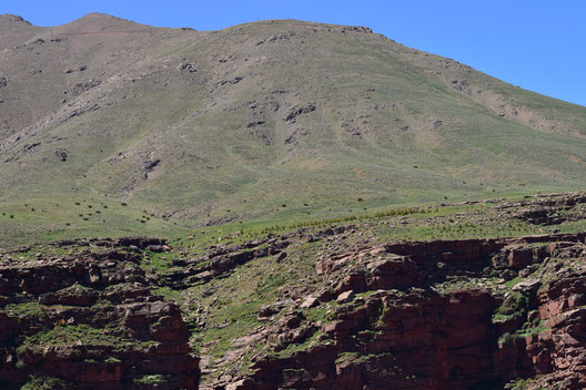 Habitat dans le massif du Toubkal, Haut Atlas central, 2018, ©Frédérique Courtin-Tarrier