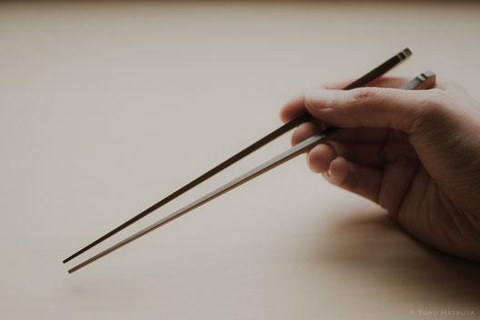 煤竹箸を個展でお手にとっていただきたいとおもいます(Fujifilm X-Pro2)