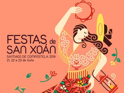 Festas de San Xoan en Santiago