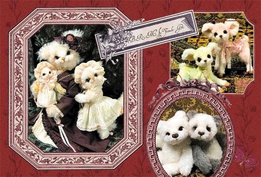 栄三越、くるみ割り人形、蝶々婦人、パンダ、バンビ