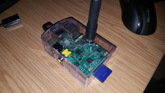 Raspberry Pi (original version) with DV-Mega