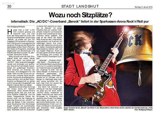 BAROCK the AC/DC tribute show Landshut 2018