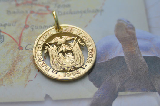Münzsagewerk Katrin Thull | Ecuador - Wappen