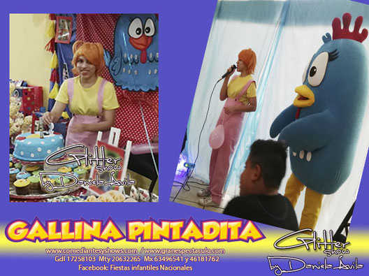 Gallina Pintadita Gdl 17258103 Show De Botargas Para Fiestas