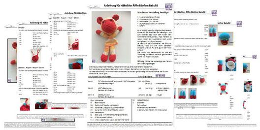 Designerin von handgefertigten Häkeltiere (crochet Animals) / Amigurumi