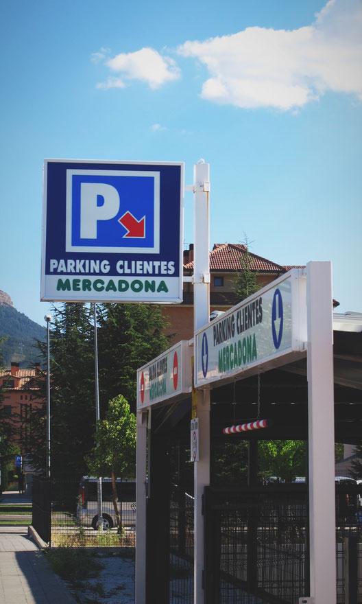 bigousteppes espagne supermarché parking