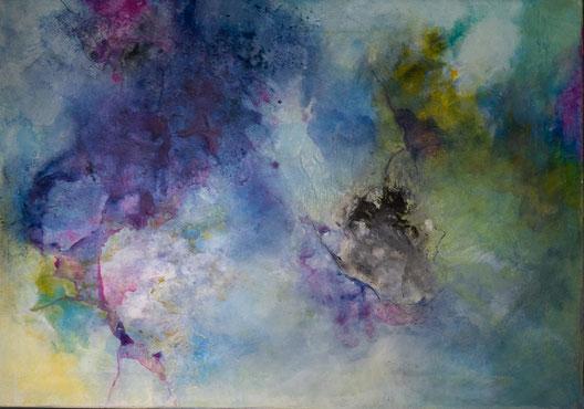 """Nr. 26 / ANNA BAUER / """"ohne Titel"""" (1), Acryl auf Leinwand, 100x70cm, 500,-€"""