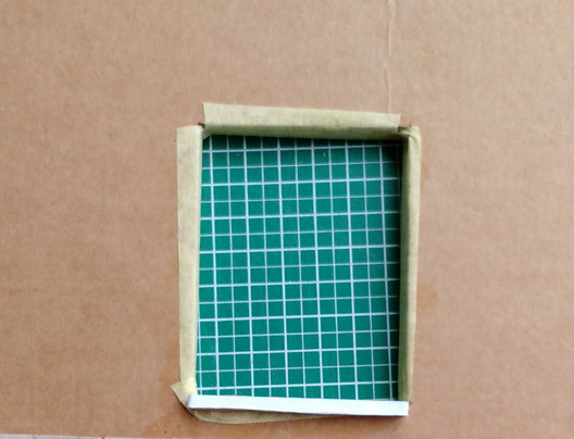 Mini-Hausfassade 1:12 Anleitung