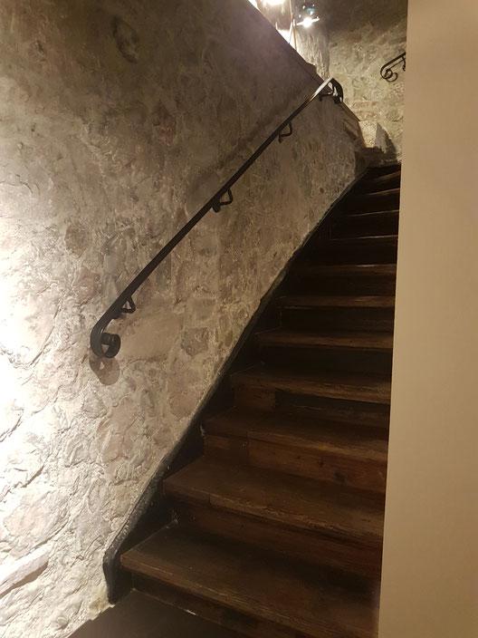 Treppenaufgang Nachher