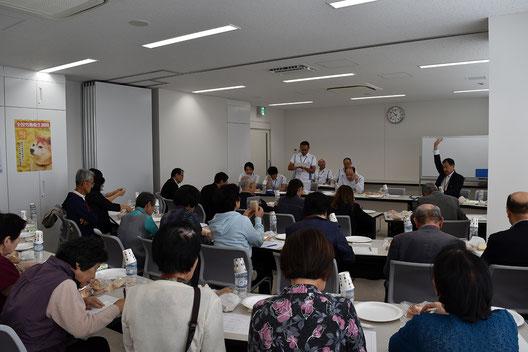 山崎製パン総合クリエイションセンターでの試食会