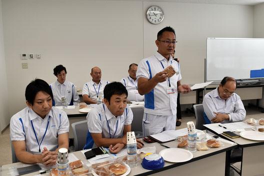 山崎製パン株式会社中央研究所の皆さん