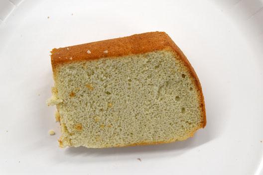 大麦粉のシフォンケーキ