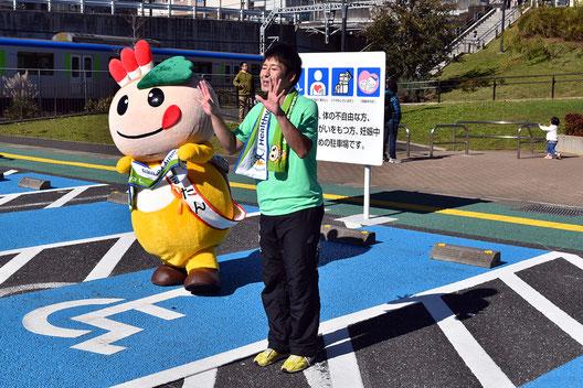 タオル体操の講師、丸山浩司さん