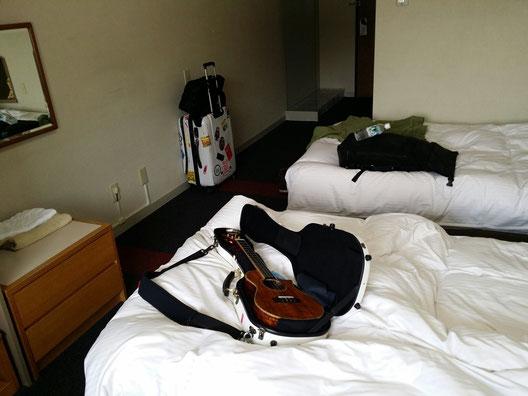 3月17日に準備して頂いてたホテルの部屋♪すごい綺麗なお部屋^^v