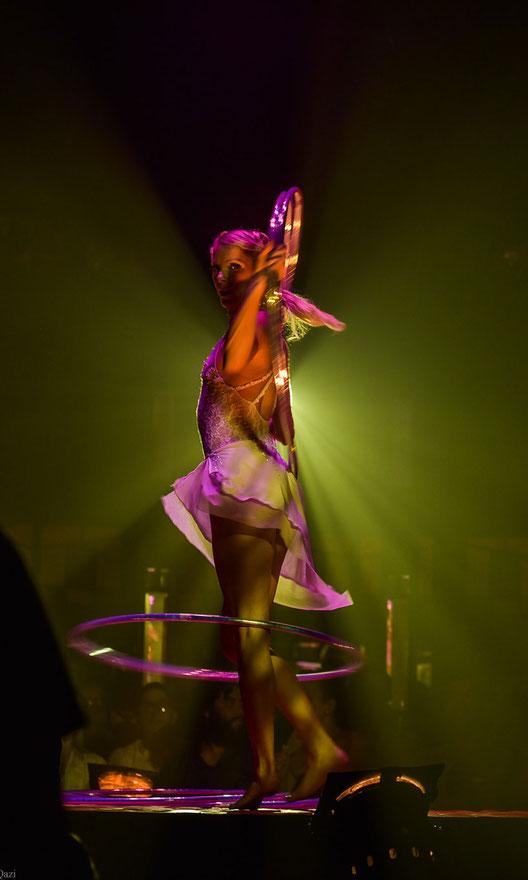 Satya Bella Hula Hoop Performance Live