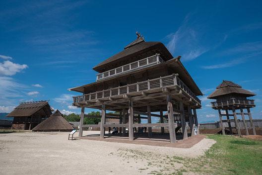 北内郭内の祭殿