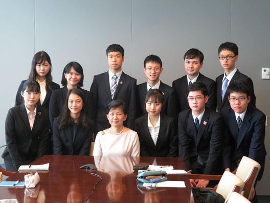 国連事務次長・軍縮担当上級代表 中満泉氏を訪問