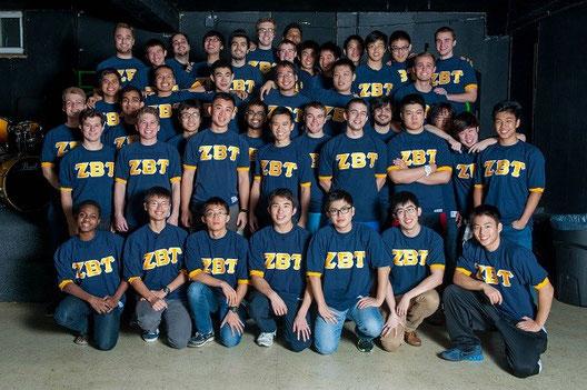 ZBTのメンバー 世界各国から学生が集まっています