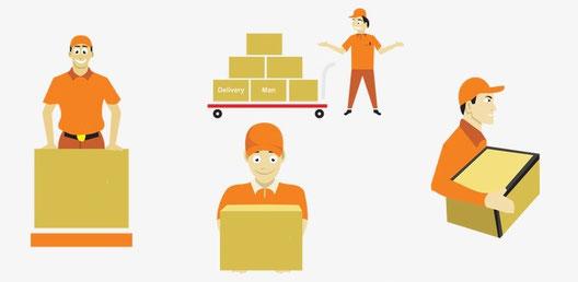 通販での商品購入や資材調達は可能
