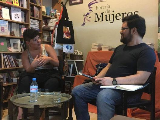 María Fernanda Ampuero y Daniel Bernal Suárez