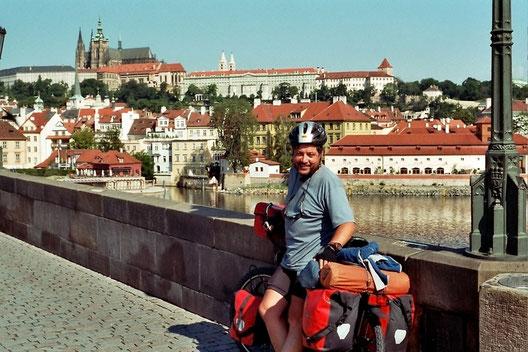 eplatzer,  Prag, Karlsbrücke, mit dem Bike auf Tour, Erhard Platzer, Stelvio, Stilfs