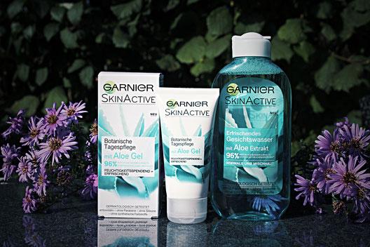 Garnier SkinActive Aloe Vera Tagespflege und Gesichtswasser