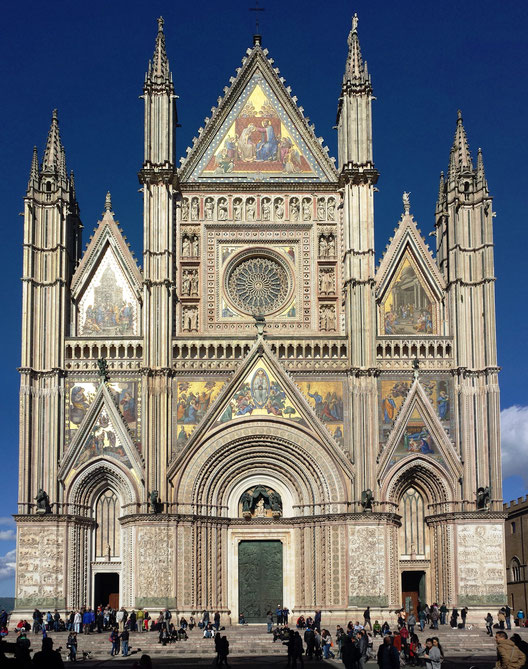 Duomo di Orvieto. Itinerari di vino. Foto Etesiaca