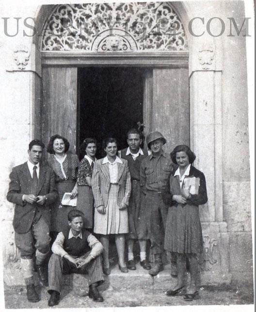 1943 Sant'Angelo dei Lombardi presso Via Mancini