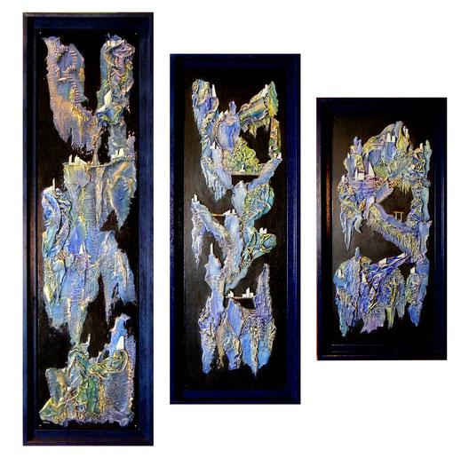 """""""Arkhalia"""" - Recycl'Art sur Bois (vendu) @B.Dupuis"""