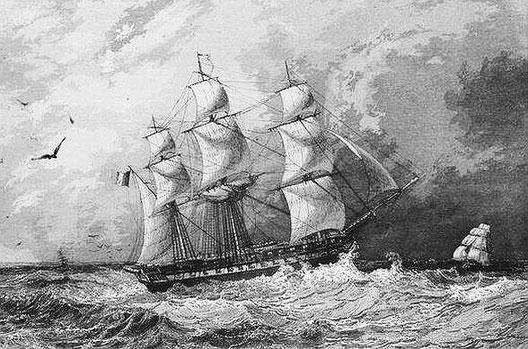 l'Artémise. Cyrille Laplace (1793-1875) : la CHINE, dans : Voyage autour du monde sur la Favorite (1830-1832). Et de : Campagne de circumnavigation de la frégate l'Artémise (1837-1840).