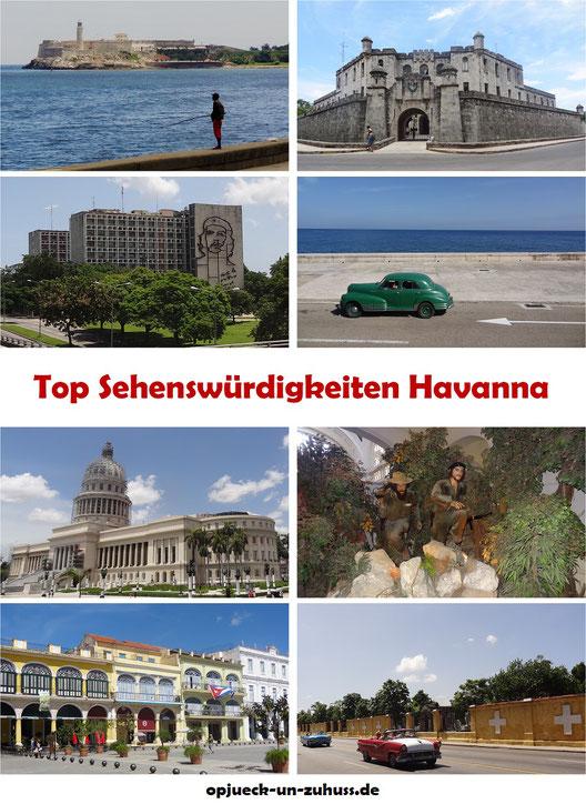 Top 15 Sehenswürdigkeiten in Havanna