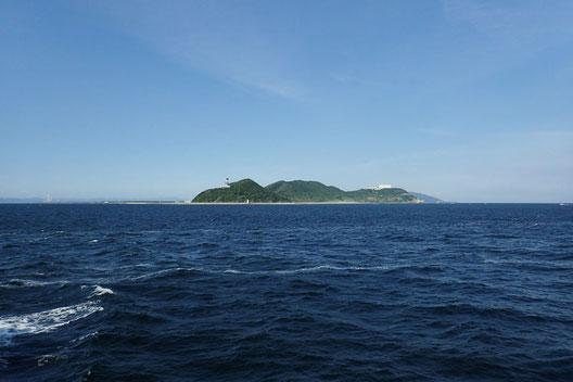 出発地の伊良湖岬