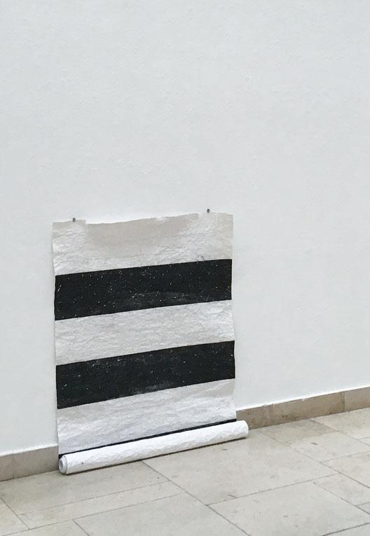 Wunder, 2018, Maße variabel, Hochdruck auf Büttenpapier