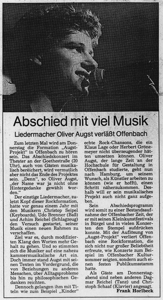 Offenbach Post, 29.10.1986