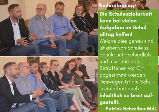 v.r.n.l.: Patrick Schreiber MdL (CDU); Henning Homann MdL (SPD); Alexander Dierks MdL (CDU)