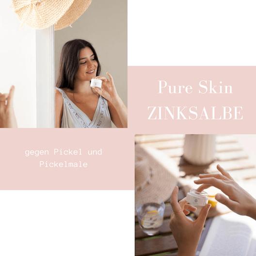 Pure Skin Zinksalbe gegen Pickelmale